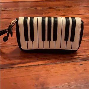 Piano Wristlet/Clutch